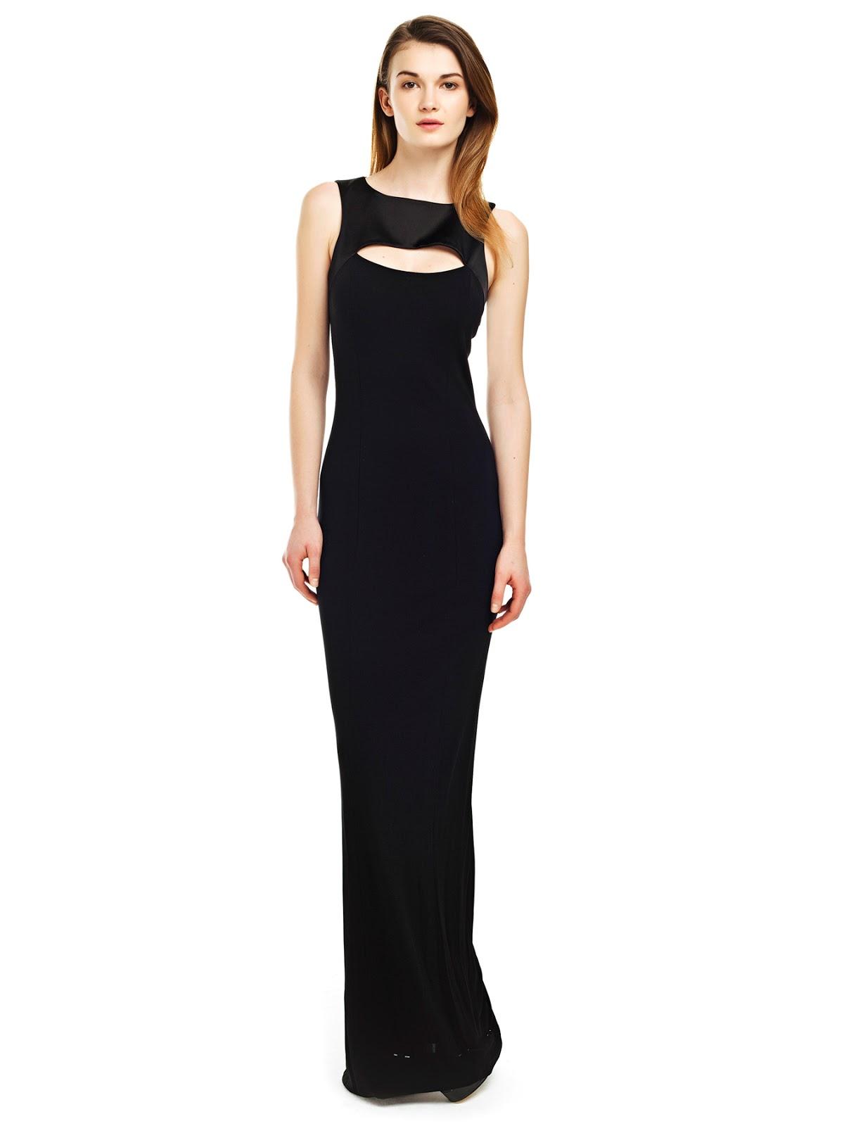 A Kesim Siyah Abiye Elbise Modelleri