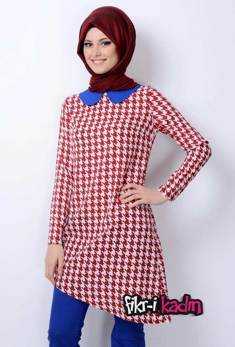 Desenli Armine Giyim Tunik Modelleri