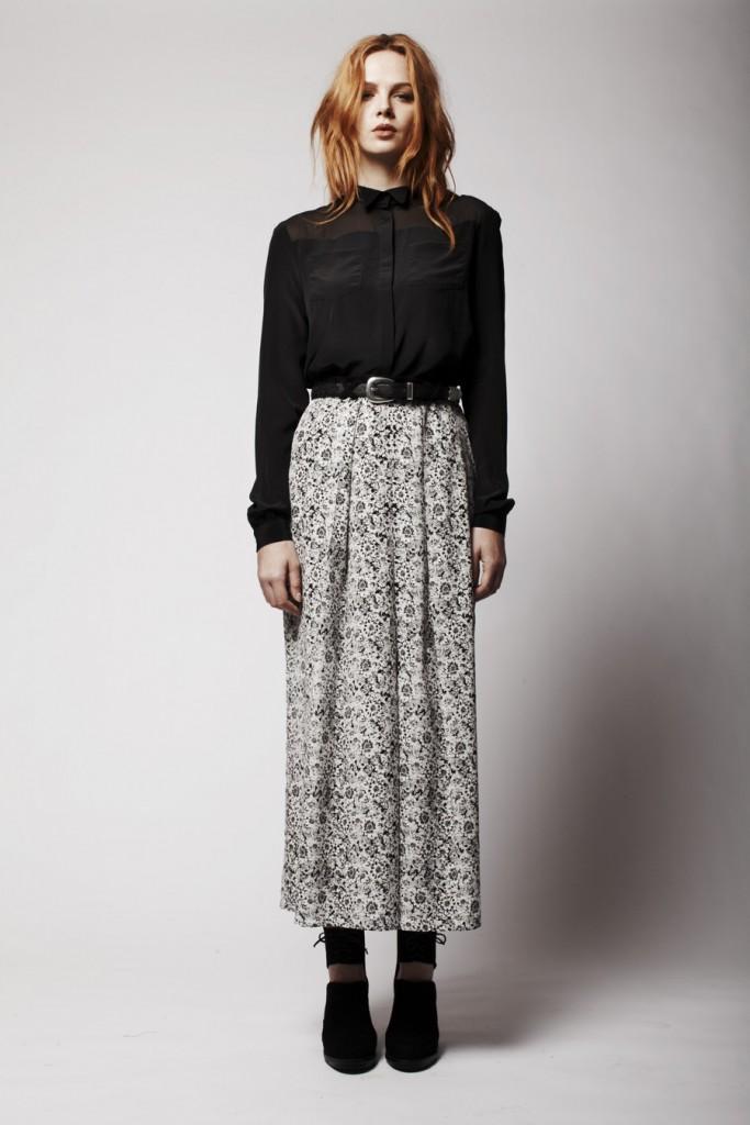 H&M Uzun Etek Modelleri 2015