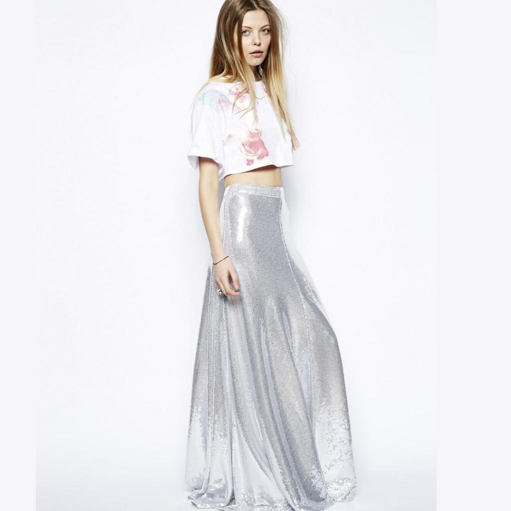 H&M Uzun Etekler